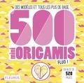 Caroline Soulères - 500 mini origamis fluo ! - Des modèles et tous les plis de base.