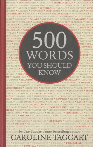 Caroline Taggart - 500 Words you Should Know.