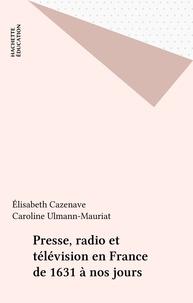 Caroline Ulmann-Mauriat et Elisabeth Cazenave - .
