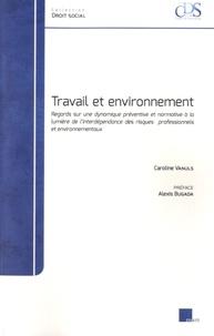 Caroline Vanuls - Travail et environnement.