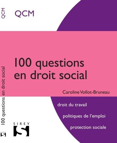 Caroline Vollot-Bruneau - 100 questions en droit social.