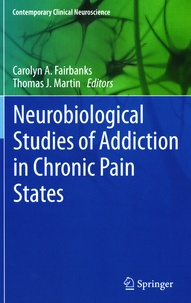 Deedr.fr Neurobiological Studies of Addiction in Chronic Pain States Image