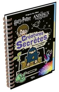 Carolyn Bull - Harry Potter - Créatures secrètes - Mon livre magique à gratter.