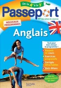 Carolyn Rigg - Passeport Anglais de la 4e à la 3e.