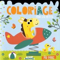 Carotte et compagnie - Au parc - Coloriage pour les petits.