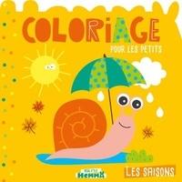 Carotte et compagnie - Coloriage pour les petits - Les saisons.