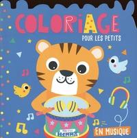 Carotte et compagnie - En musique - Coloriage pour les petits.