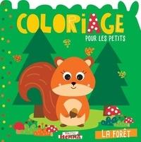 Carotte et compagnie - La forêt - Coloriage pour les petits.