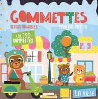 Carotte et compagnie - La ville - Gommettes repositionnables pour les petits. Avec + de 300 gommettes.