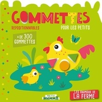 Carotte et compagnie - Les animaux de la ferme - Gommettes pour les petits.