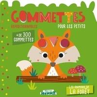 Carotte et compagnie - Les animaux de la forêt - Gommettes pour les petits.