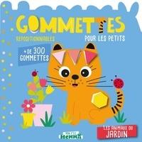 Carotte et compagnie - Les animaux du jardin - Gommettes pour les petits.