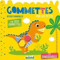 Carotte et compagnie - Les dinosaures - Gommettes repositionnables pour les petits. Avec + de 300 gommettes.