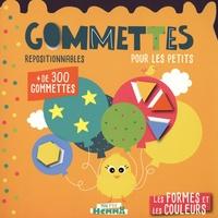 Carotte et compagnie - Les formes et les couleurs - Gommettes repositionnables pour les petits.