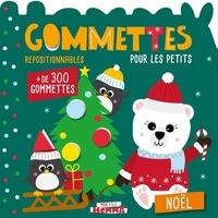 Carotte et compagnie - Noël - Gommettes repositionnables pour les petits. Avec + de 300 gommettes.