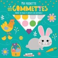 Carotte et compagnie - Pâques - Ma pochette + de 120 gommettes. Anime ta frise et invente des histoires !.