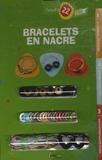 Carpe Diem - Bracelets en nacre.