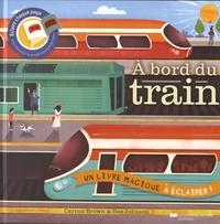 Carron Brown et Bee Johnson - A bord du train.