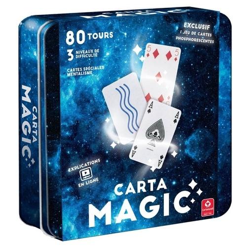 CARTAMUNDI - coffret metal expert magie 80 tours + accessoires