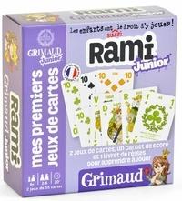 CARTAMUNDI - GRIMAUD JUNIOR - RAMI - 2 JEUX DE 54 CARTES