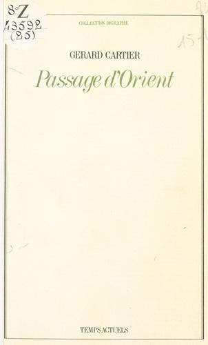 Passage d'Orient