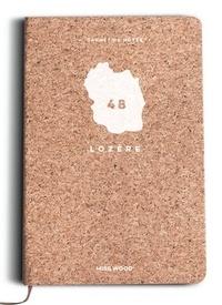Cartothèque - Carnet de notes en liège Lozère.