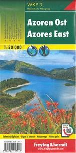 Freytag & Berndt - Açores nord - sud ; Açores est - ouest - 1/50 000.