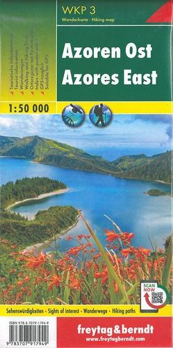 Açores nord - sud ; Açores est - ouest. 1/50 000