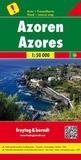 Freytag & Berndt - Açores - 1/50 000, carte routière + de loisirs.