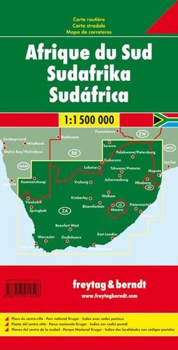 Afrique du Sud. 1/1 500 000