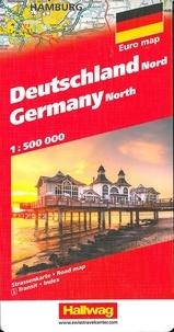 Hallwag International - Allemagne Nord - 1/500 000.
