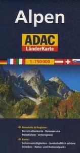 ADAC Verlag - Alpen - 1/750 000.