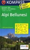 Kompass - Alpi bellunesi.