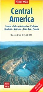 Nelles - Amérique centrale - 1/1 750 000 ; 1/900 000.