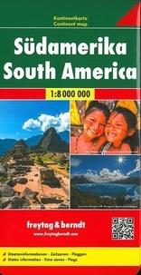 Freytag & Berndt - Amérique du Sud - 1/8 000 000.