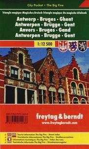 Freytag & Berndt - Anvers Bruges Gand - 1/12 500.