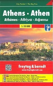 Freytag & Berndt - Athènes - 1/10 000.