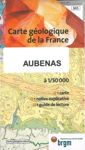 BRGM - Aubenas - 1/50 000.