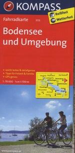 Kompass - Bodensee und Umgebung - Fahrradkarte.