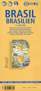 Borch Map - Brazil - 1/4 000 000.
