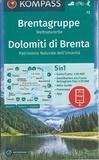 Kompass - Brentagruppe Dolomiti di Brenta.
