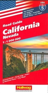 Hallwag International - California - 1/1 000 000.