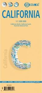 Borch Map - California - 1/1 200 000.
