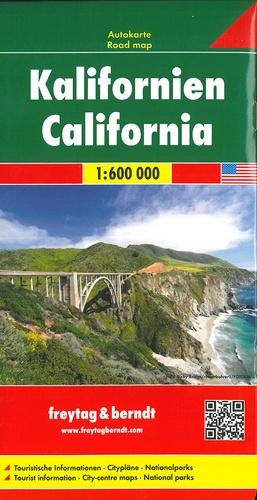 Californie. 1/600 000