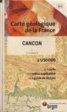 J-P Capdeville - Cancon - 1/50 000.