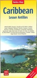 Nelles - Caraïbes, petites Antilles - 1/2 500 000.