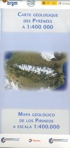 BRGM - Carte géologique des Pyrénées - 1/400000.
