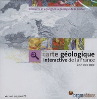 BRGM - Carte géologique interactive de la France à 1/1 000 000 - CD-ROM version 1.0.
