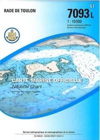 SHOM - Carte marine officielle - Rade de Toulon, 1/10 000.