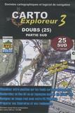 Bayo - Carto explorateur 3 Doubs (25) - CD Rom,  Partie sud.